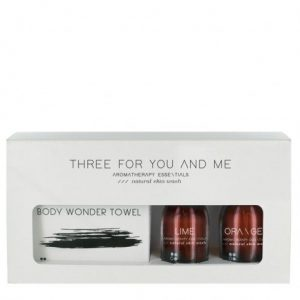 three-for-you-and-me-body-wonder-towel-lime-orange-100-ml