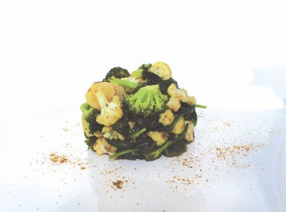 Schorseneer, bloemkool, broccoli en spinazie