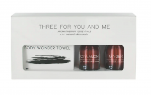 Three For You And Me Cinnamon + Ginger