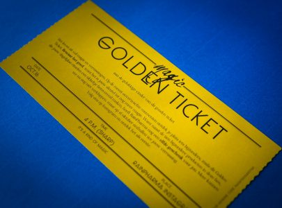 Kom jij je Golden Ticket inruilen?